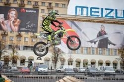 У Харкові тривають змагання з екстремального мотоспорту