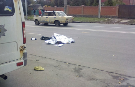 На Олександрівському на смерть збито пішохода