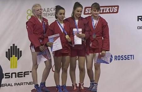 """Два """"срібла"""" і дві """"бронзи"""". Харківські самбісти - призери чемпіонату світу із самбо серед молоді"""