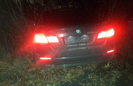 Харківська поліція затримала водія BMW, який втік з місця ДТП