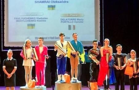 Тандем юних харків'ян переміг на чемпіонаті світу з акробатичного рок-н-ролу/ВІДЕО