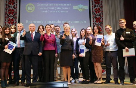 Світлична і посол Франції вручили студентам подвійні дипломи
