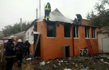На першому Прудному через холодильник згорів будинок/ Фото