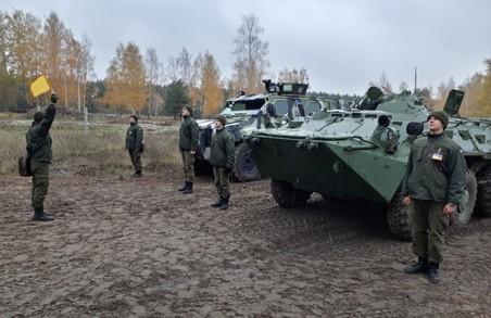 Харківські курсанти навчалися керувати «Спартаном»