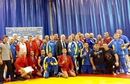 Харківські спортсмени здобули перемогу на ветеранському чемпіонаті світу з самбо