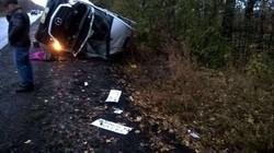 В результаті аварії постраждали дев'ять осіб. Зараз їх стан оцінюють як задовільний