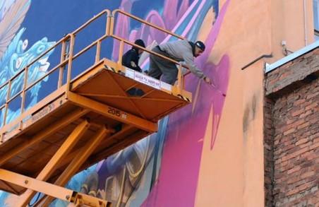 В Харкові з'явиться новий мурал від болгарських художників