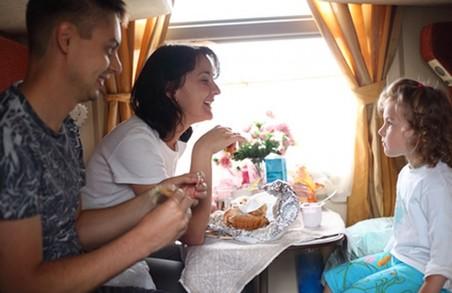 Що і за скільки можна буде з'їсти в поїзді