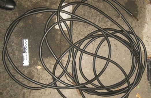 На Основі затримано кабельного крадія