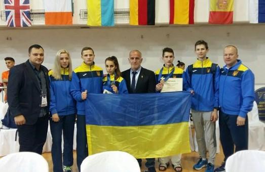 Харківські тхеквондисти успішно виступили на чемпіонаті Європи