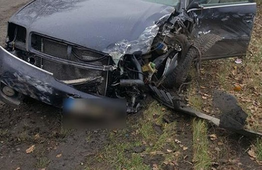 ДТП у Краснокутську. Одна людина загинула, друга у важкому стані/ Фото