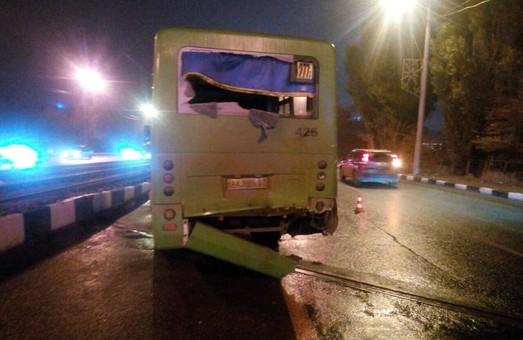 На Новоіванівському мосту в ДТП з двома маршрутками постраждали діти / ФОТО