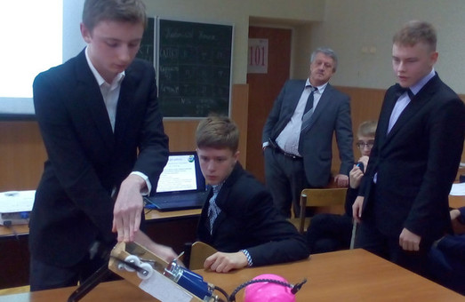 Харківські школярі виявилися ще й неабиякими винахідниками