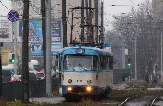 Деякі трамваї тепер курсують за зміненим маршрутом