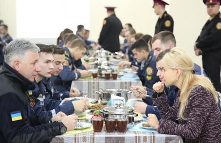В університеті цивільного захисту 26 років незалежності України чекали на її відкриття, - Світлична про нову їдальню