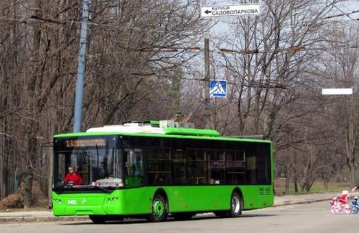 Тринадцятий тролейбус змінить маршрут
