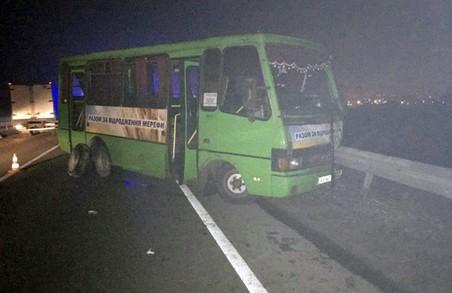 В Харкові сталося ДТП за участі іномарки. Одна людина загинула