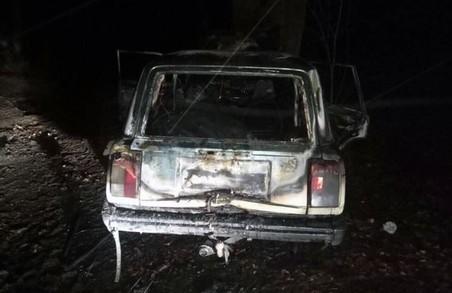 У Харкові палають авто: фото