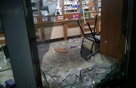 На Салтівці невідомі підірвали аптеку