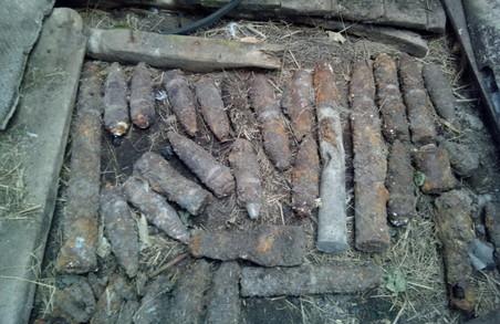 На Харківщині було знешкоджено 63 боєприпаси часів Другої світової
