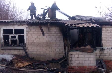 Під час пожежі в приватному будинку загинула людина