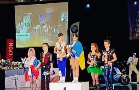 Харків'яни стали володарями Кубоку світу з акробатичного рок-н-ролу
