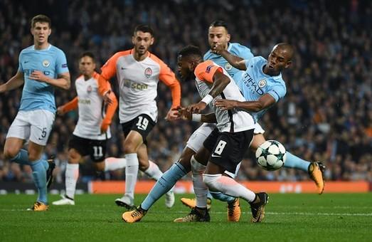 «Шахтар» vs «Manchester city»: 2:1