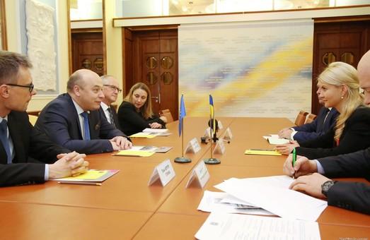 Світлична обговорила питання реформування публічної безпеки в регіоні з головою Консультативної місії ЄС в Україні