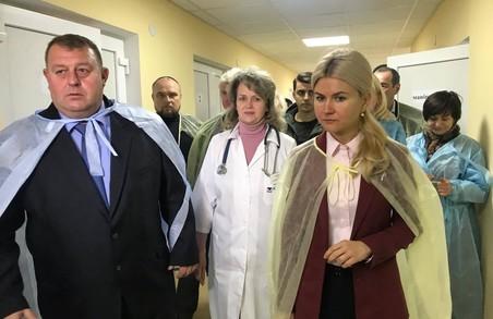 Світлична розповіла про плани щодо Ізюмської центральної міської лікарні на 2018 рік
