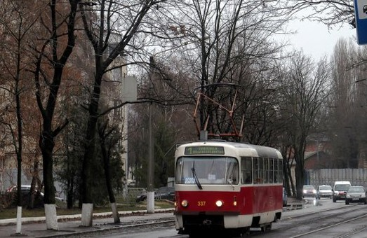 На Великій Панасівській – великий ремонт: трамваи не ходитимуть майже цілий день