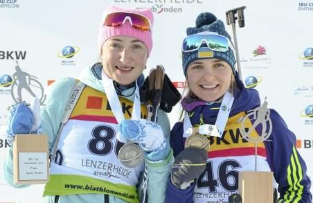 Харківська біатлоністка виграла «срібло» етапу Кубка IBU