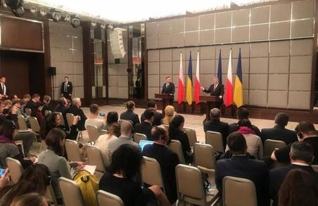 Візит Президенту Польщі до Харкова сприяв зниженню напруженості у польсько-українських відносинах