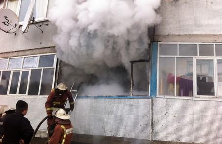 На Харківщині від вогню була врятована людина