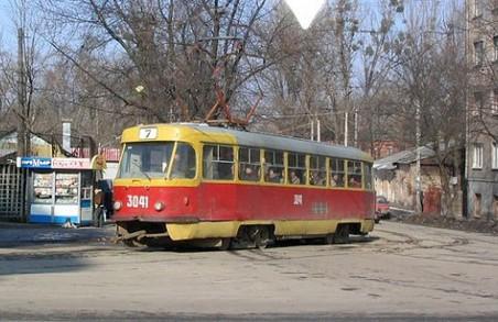 Трамвай №7 певний час їздитиме іншим маршрутом