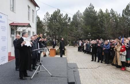 Сільській медицині в Україні – бути, - Порошенко