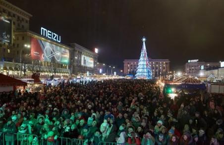 Концерт та флешмоби: якою буде новорічна ніч на площі Свободи