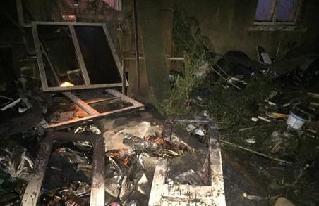 У Харківському районі в результаті пожежі загинула людина