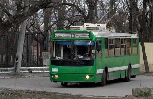 Тролейбуси №13, 20 і 31 будуть їздити іншими маршрутами