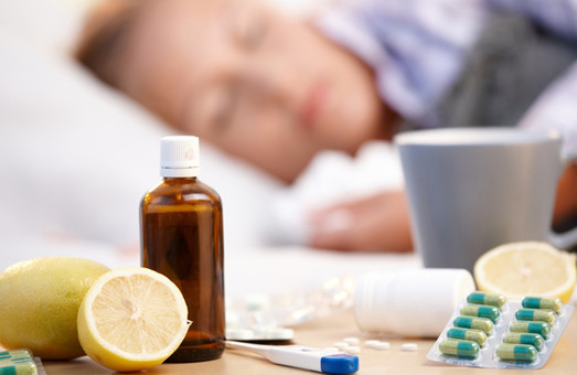За перший тиждень 2018 року на грип та ГРІВІ захворіло маже 6 тисяч харків'ян
