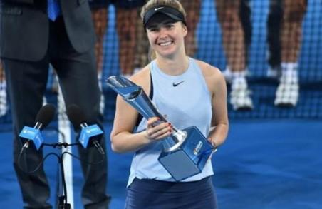 Харківська тенісистка Еліна Світоліна здобула нову перемогу в Австралії