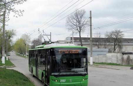 Тролейбуси №13, 20 і 31 їздитимуть іншими маршрутами