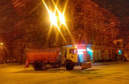 Справжня зима прийшла до Одеси