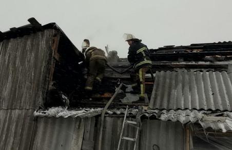 На Харківщині сталася чергова пожежа через пічне опалення