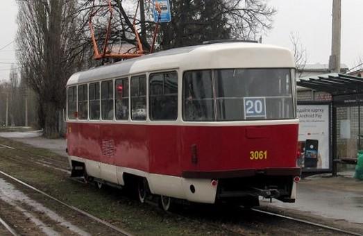 Наступного тижня трамвай №20 буде їздити за іншим маршрутом