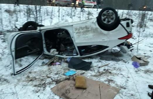 Негода на Харківщині стала причиною аварії