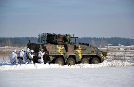 На Харківщині бійці та резервісти 92-ї ОМБр вчаться за програмою Збройних сил Великої Британії