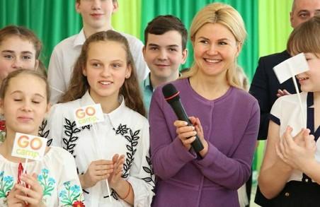 «Будемо підтримувати район»: Юлія Світлична побувала у Новій Водолазі / ФОТО