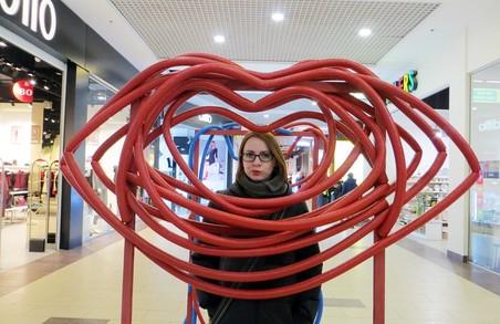 Харківські дизайнери створили дві фотозони до Дня закоханих