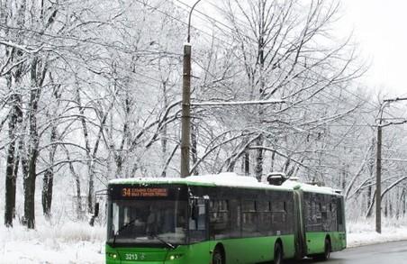Тролейбус №34 їздитиме іншим маршрутом
