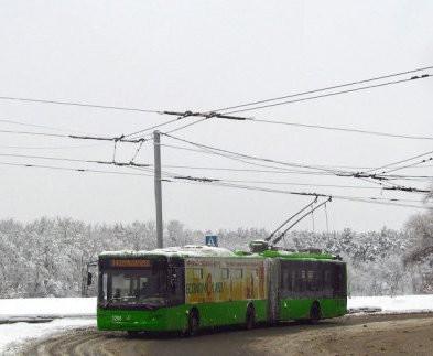 На Салтівці не ходитимуть тролейбуси